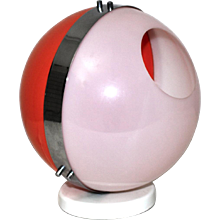 Spaca Age Plexi Ball Lamp 1970s