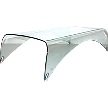 Waterfall Glass Coffee Table by Massimo Iosa Ghini 20th Century