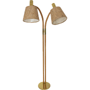 Floor Lamp in the style of Adrienne Audoux et Frida Minnet