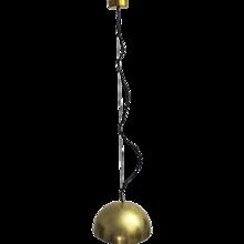 Mid Century Modern Italian Hanging Lamp 1960s