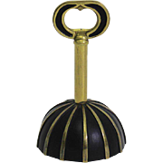 Brass Table Bell, Corkscrew and Bottle Opener Vienna 1950s