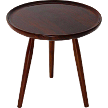 Tripod Side Table by Josef Frank Vienna 1925