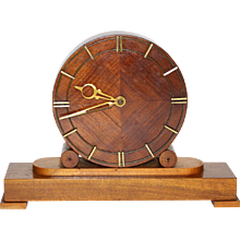 Fire Place Clock Vienna 1948