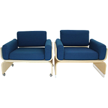 Lounge Chairs Olympic Airways 1960s