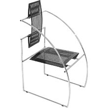Armchair Quinta by Mario Botta 1985 Italy