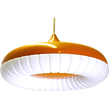 Orange Ceiling Lamp by Siemens 1960s