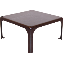 Brown Coffee Table Demetrio 45,  1960