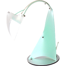 Green Desk Lamp Slamp: by Massimiliano Datti Italy 2000