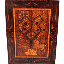 Art Deco Wood Inlaid Picture 1920s