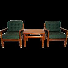 Sitting Room Set by Grete Jalk circa 1955 Denmark