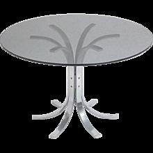 Chromed Coffee Table by Merrow Associates  circa 1970