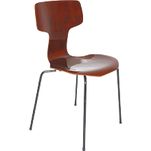 1960s Stacking Chair by Arne Jacobsen