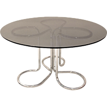20th Century Dining Table by Giotto Stoppino Italy 1970´s