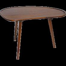 Three-Legged Coffee Table circa 1950