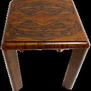 Austrian Art Deco Side Table circa 1930