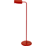 Red Floor Lamp by Abo Randers 1970 Denmark