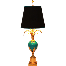 Table Lamp in the style of Maison Charles France circa 1970