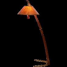 Thorn Stick Floor Lamp - Dornenstablampe - by J.T.Kalmar Vienna circa 1952
