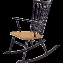 Violet Rocking Chair by Roland Rainer Vienna circa 1958