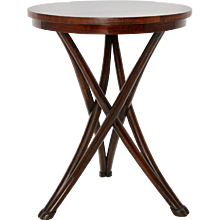 August Thonet Bentwood Game Table No 13 circa 1880 Vienna