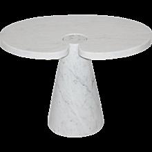 Angelo Mangiarotti Italian Marble Side Table Eros 1970