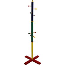 Multicolored Coat Stand Postmodern by Pierre Sala 1980s