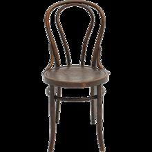 Viennese Kaffeehaus Bentwood Chair by Mundus Austria circa 1880