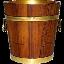 Walnut Wine Cooler 1970s