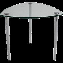 Chromed Side Table 1960s