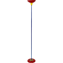 Multicolored Pop Art Floor Lamp in the style of Memphis 1980 Italy