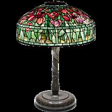 Tiffany Studios 'Tulip' Table Lamp