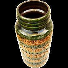 German Large Floor Vase