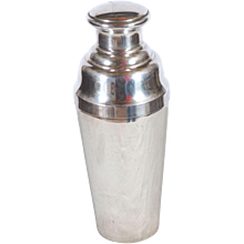 Large Sterling Silver Cocktail Shaker