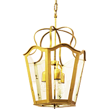 Large Viennese Stairwell Or House Entrance Lamp Art Nouveau Style