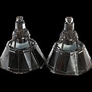 Black Soviet Factory, Industrial Pendant Lamp