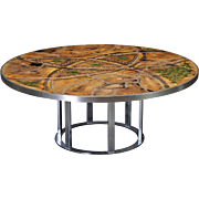 Poul Cadovius, Lilly Just Lichtenberg Circular Coffee Table
