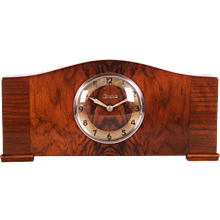 Art Deco Mantel Alarm Clock by Junghans