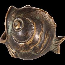 Small Fish Ashtray by Walter Bosse