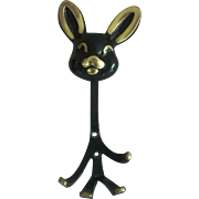 Rabbit Wall Hook by Walter Bosse