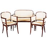 Vienna Secession Thonet Salon Suite Catalog Number 6278