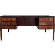 Rosewood Desk by Omann Junior, Denmark from the 1960s
