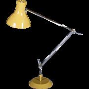 Mid Century Yellow Table Lamp By Josef Hurka