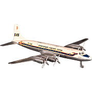 Vintage Douglas DC 7 C Airplane Model