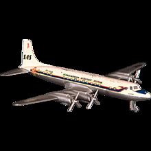 Vintage Douglas DC 7 C Airplane Model