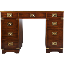 British Mahagony Campaign Desk