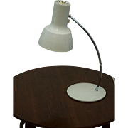 White Table Lamps by Josef Hurka for Napako