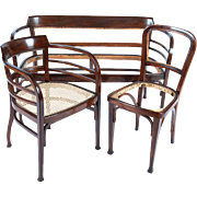 Vienna Secession Thonet Suite Attributed to Otto Wagner