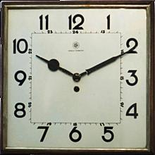 Big Kienzle Bauhaus Wall Clock, 1930s
