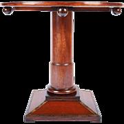 """Round Vienna Secession Table Signed """"Wiener Werkstätte"""""""
