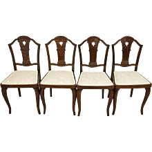 Set of Four Thonet Chairs Attributed to Otto Prutscher